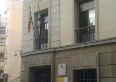 EDIFICIO DE LA DELEGACIÓN DE LA AGENCIA TRIBUTARIA AEAT DE CEUTA