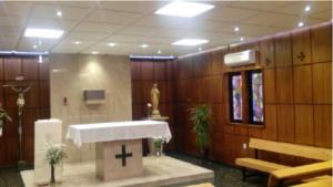 INSTALACION ILUMINACION LED CAPILLA CASA RELIGIOSAS DIVINO MAESTRO