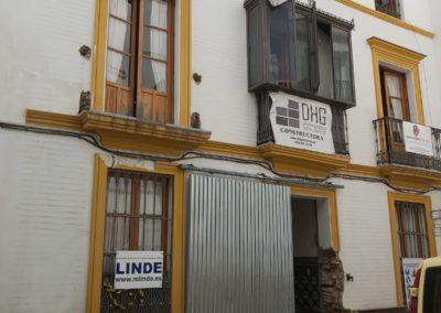 Rehabilitacion edificio calle Bailen Sevilla